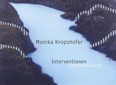 "Cover Katalog ""Interventionen"""