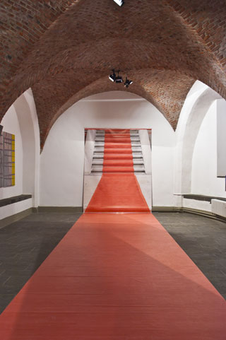 The Red Carpet in the Museum of the Central Rhine